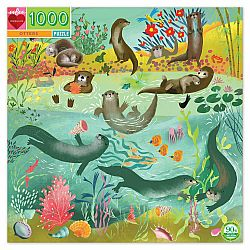 1000pc Puzzle - Otters