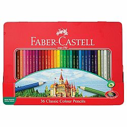 Classic Color Pencil Tin Set 36ct