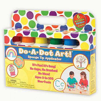 Do-a-Dot Rainbow Art Markers - 6ct