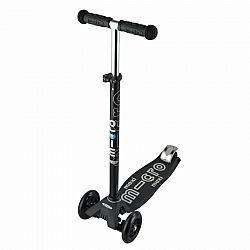 Black and Grey Maxi Deluxe Micro Scooter
