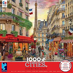 1000pc Puzzle - David Maclean Cities