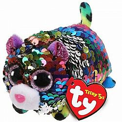 Beanie Boo - Dotty Leopard Sequined Teeny Ty 4""
