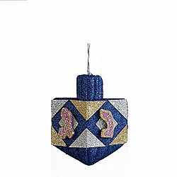 Dreidel Glitter Decoration