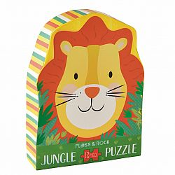 12pc Puzzle - Lion Shaped Jigsaw