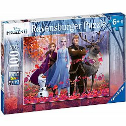 100pc Puzzle - Frozen II Magic of the Forest