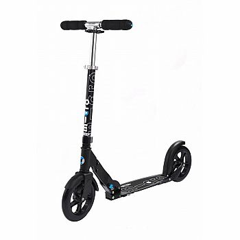 Micro Black Silverline Scooter