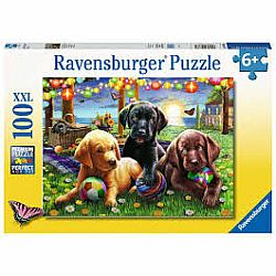 100pc Puzzle - Puppy Picnic
