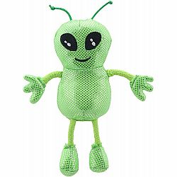 Finger Puppet - Green Alien