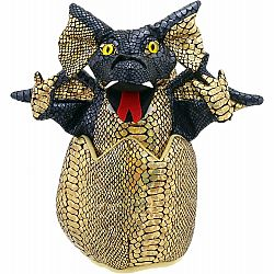 Hatching Dragon Hand Puppet - Dark Blue