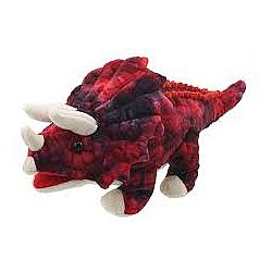 Baby Dinos Puppet - Triceratops