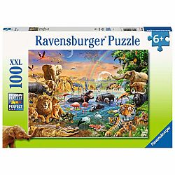 100pc Puzzle - Waterhole