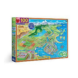 100pc Puzzle - Geographical Terms