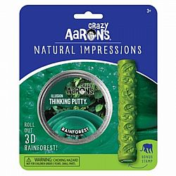 Crazy Aaron's Natural Impressions Thinking Putty - Rainforest