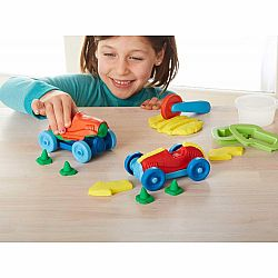 Green Toys Dough Set - Race Car Maker