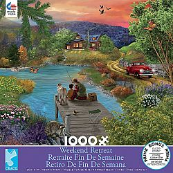 1000pc Puzzle - Weekend Retreat